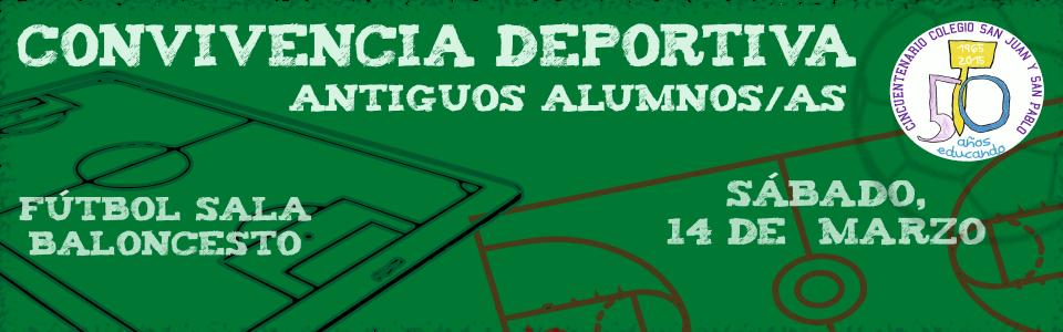Convivencia Deportiva antiguos alumnos/as