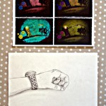 Dibuixant la mà !! 1r d' ESO.