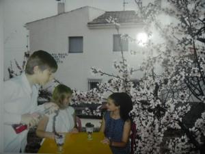 Ángela Verdú, Nicolás Martínez y Paola Martínez 2