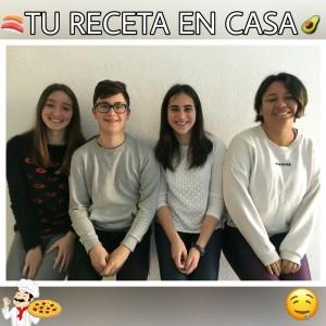 Silvia Albert, Leo Rueda, Hanna Talledo y Paula Miró