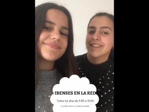 Candela Fernández y Blanca Pérez