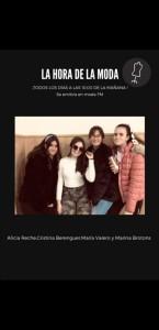 Marina Brotons, Cristina Berenguer, María Valero y Alicia Reche