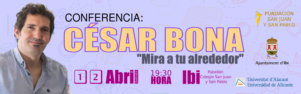 Conferencia César Bona